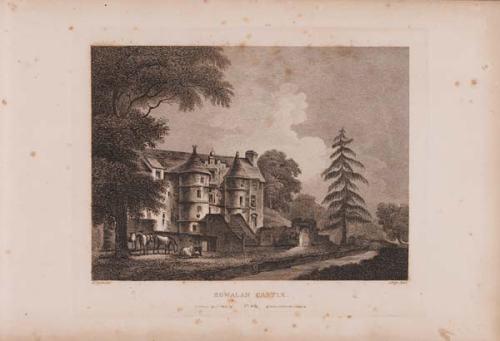 Rowallan Castle Print